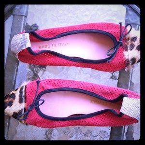 Shoes - Custom leather flats